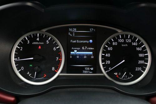Nissan Micra műszerfal
