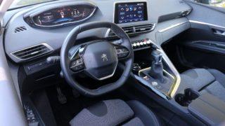 Peugeot 5008 belső