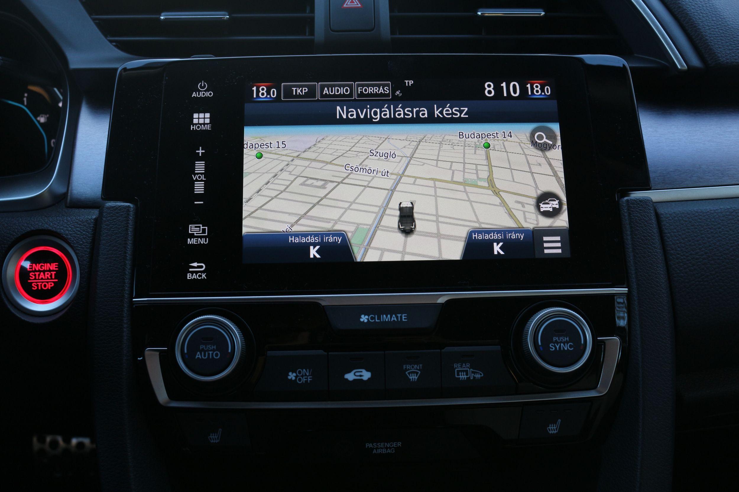 Honda Civic navi