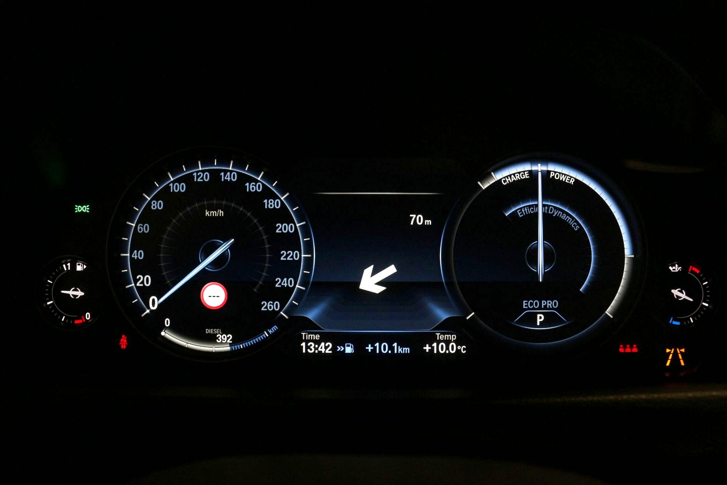 BMW 430D műszerfal