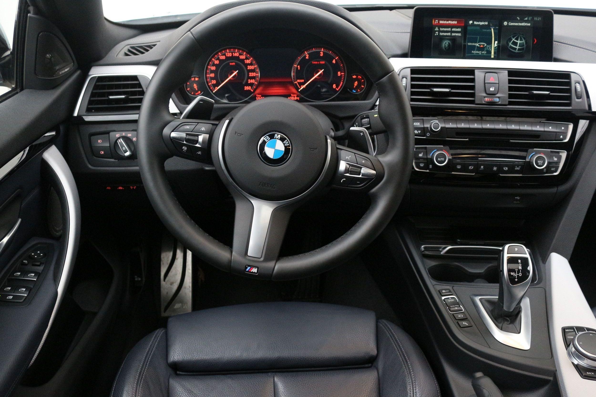 BMW 430D gran coupé belső