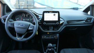 Ford Fiesta belső