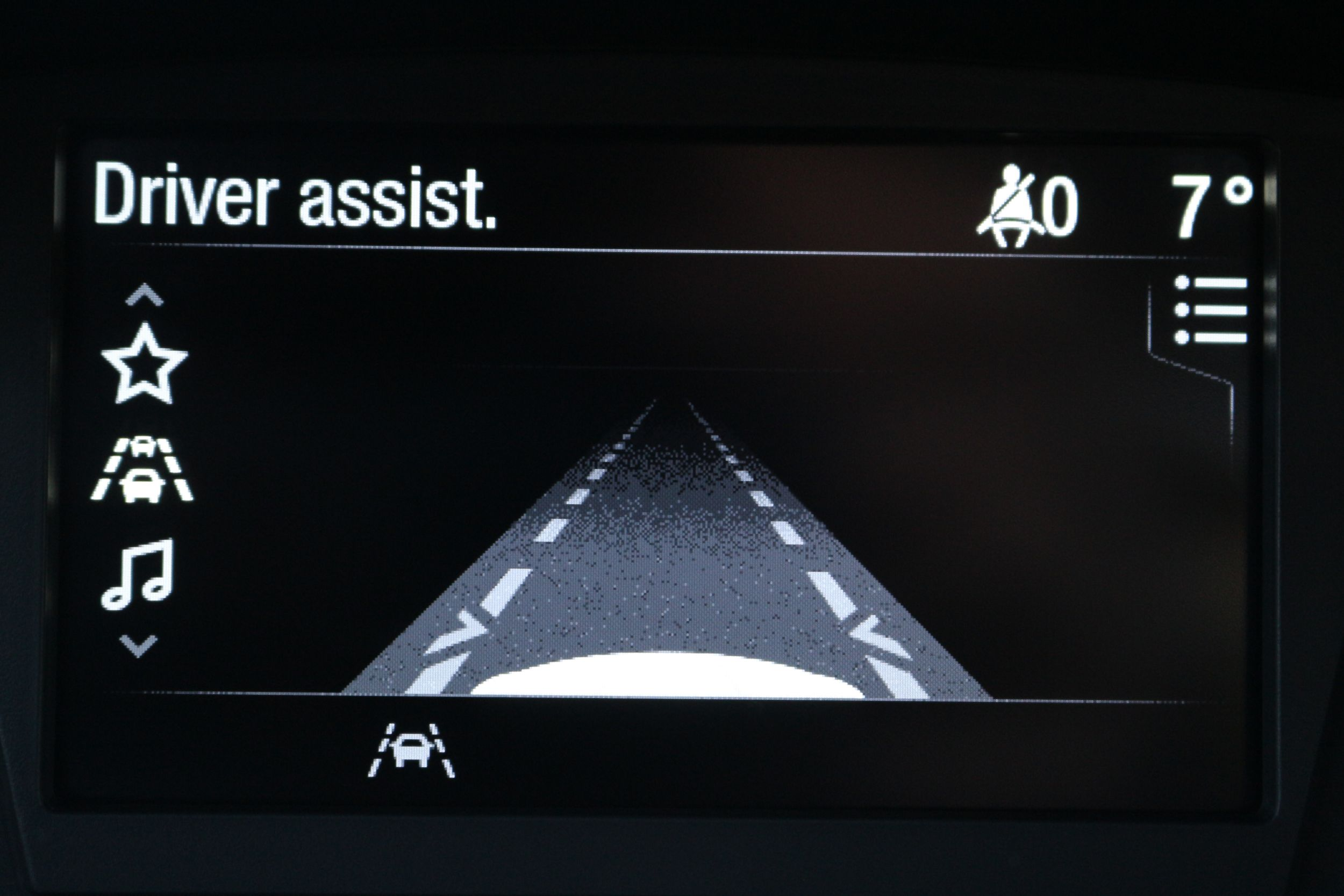 Ford Fiesta driver assist
