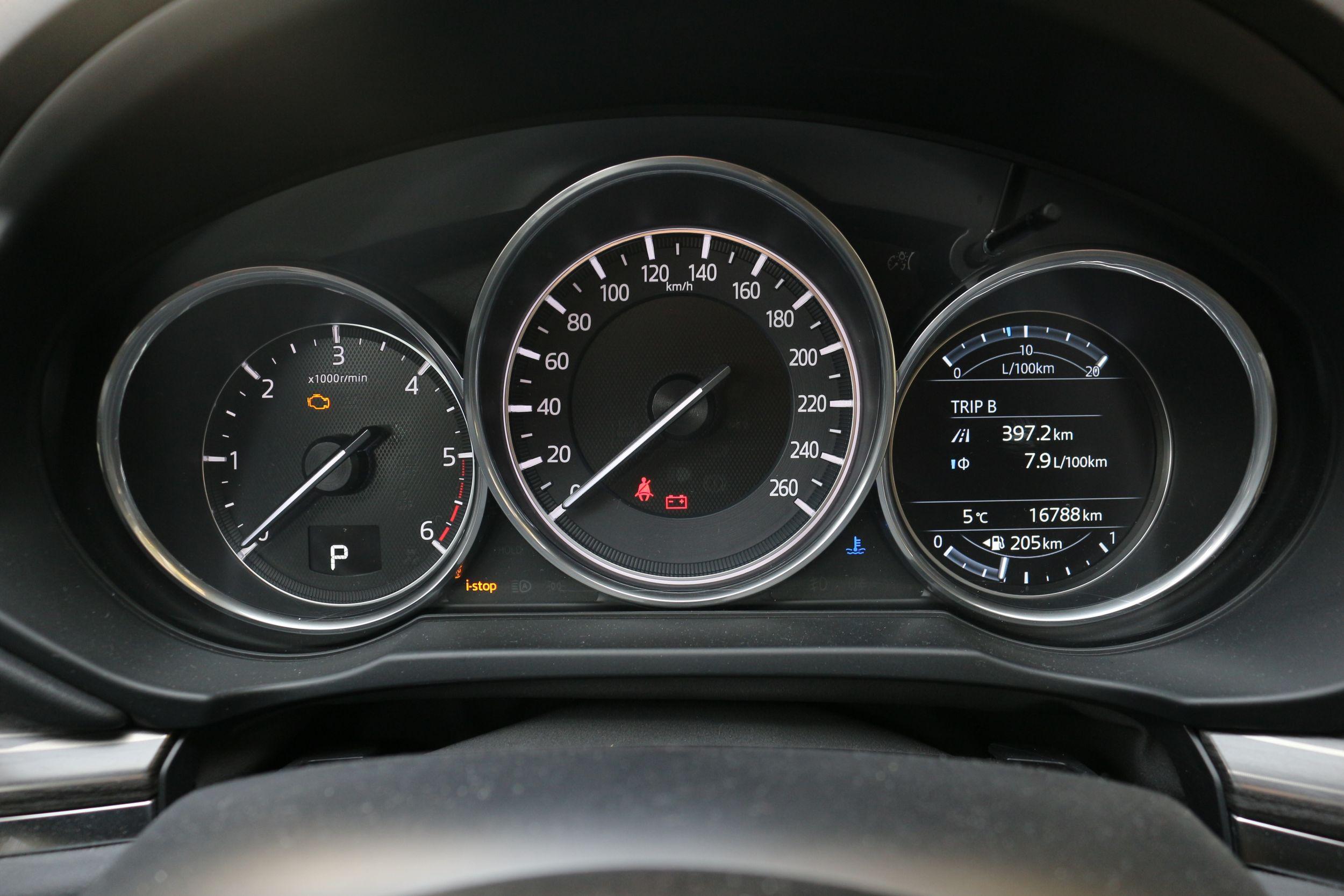 Mazda CX-5 műszerfal