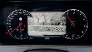 Mercedes S400d műszerfal
