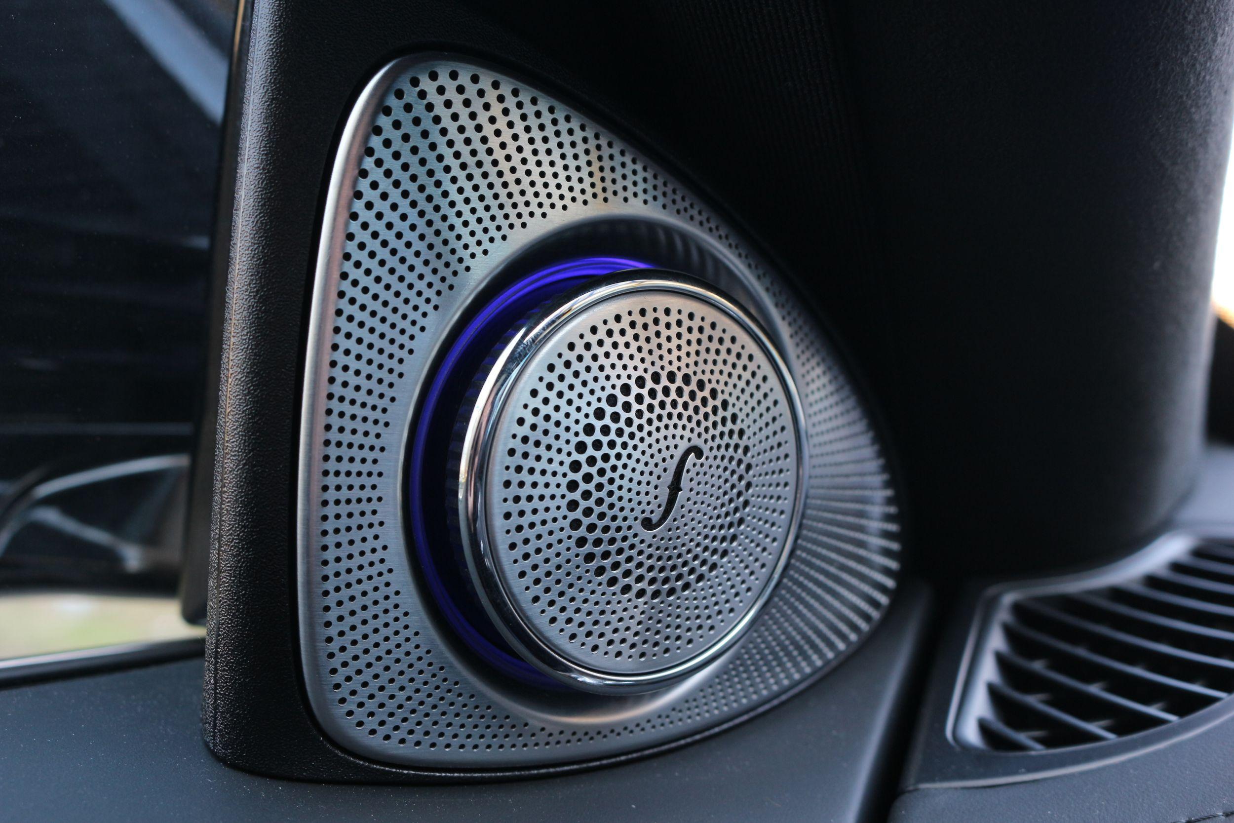 Mercedes S400d belső