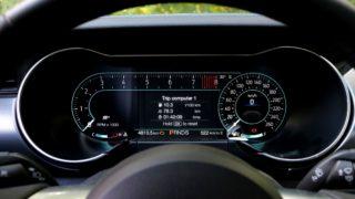 Ford Mustang GT műszerfal