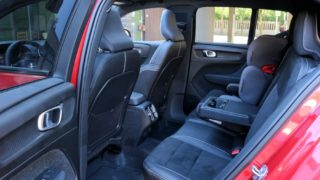Volvo xc40 férőhely