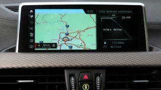 BMW X2 navi