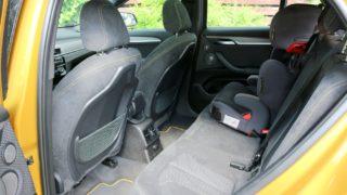 BMW X2 férőhely