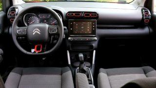 Citroen c3 aircross belső