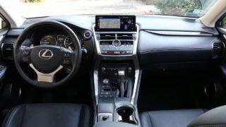Lexus nx 300h belső