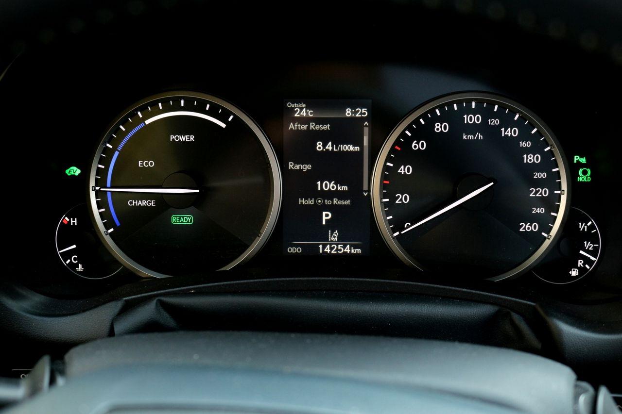 Lexus nx 300h műszerfal