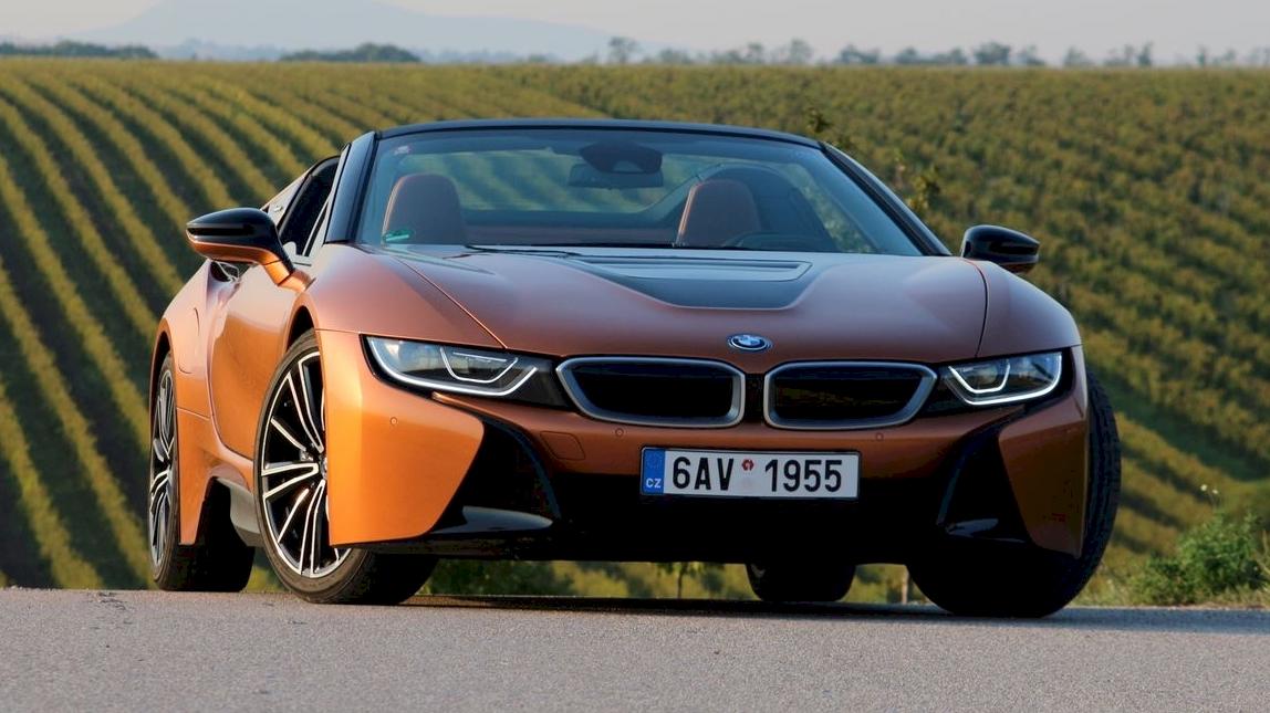 BMW-i8 Roadster teszt