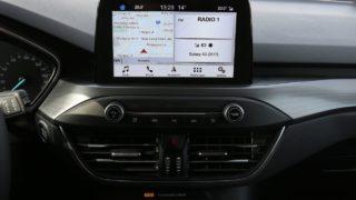Ford Focus TDCI navigáció