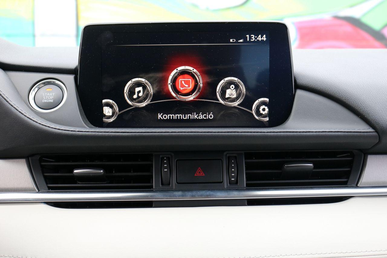 Mazda6 kommunikáció