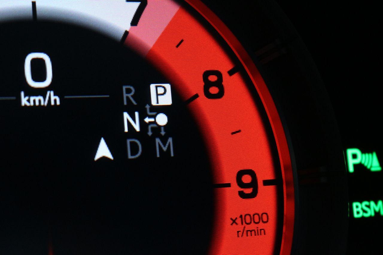Lexus LC500 műszerfal