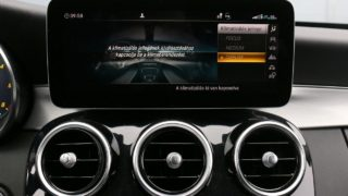 Mercedes-Benz C220d klíma állítás