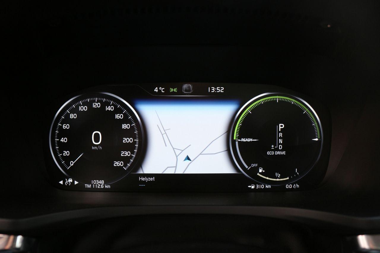 Volvo V60 T6 műszerfal