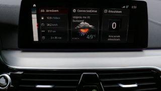 BMW M550d Touring belső