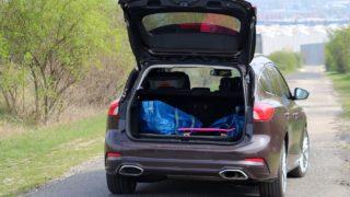 Ford Focus Vignale csomagtartó