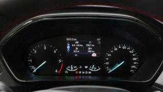 Ford Focus ST-Line műszerfal