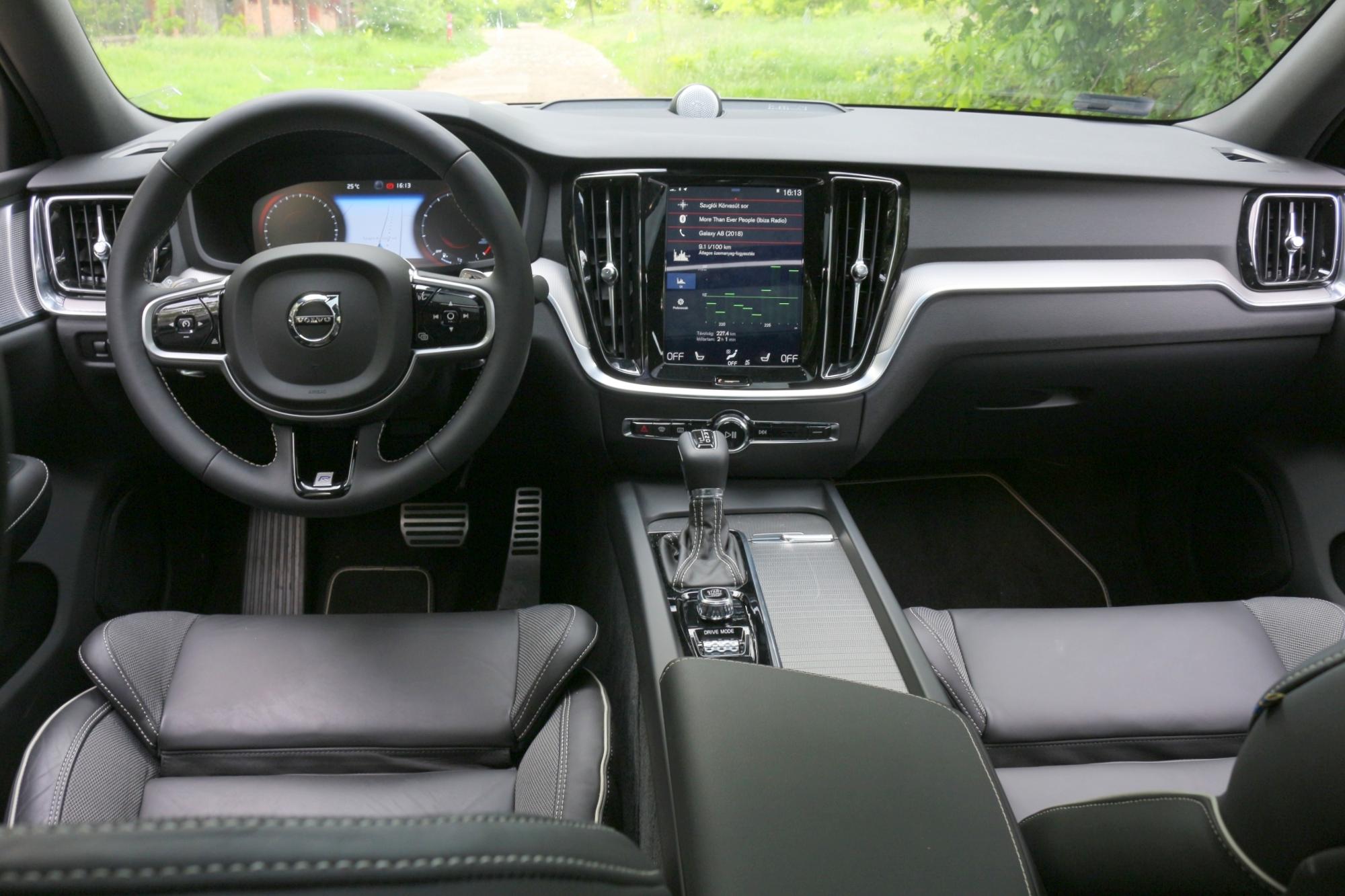 S60 T5 R-Design belső
