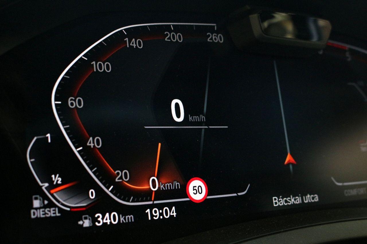 BMW 320D műszerfal