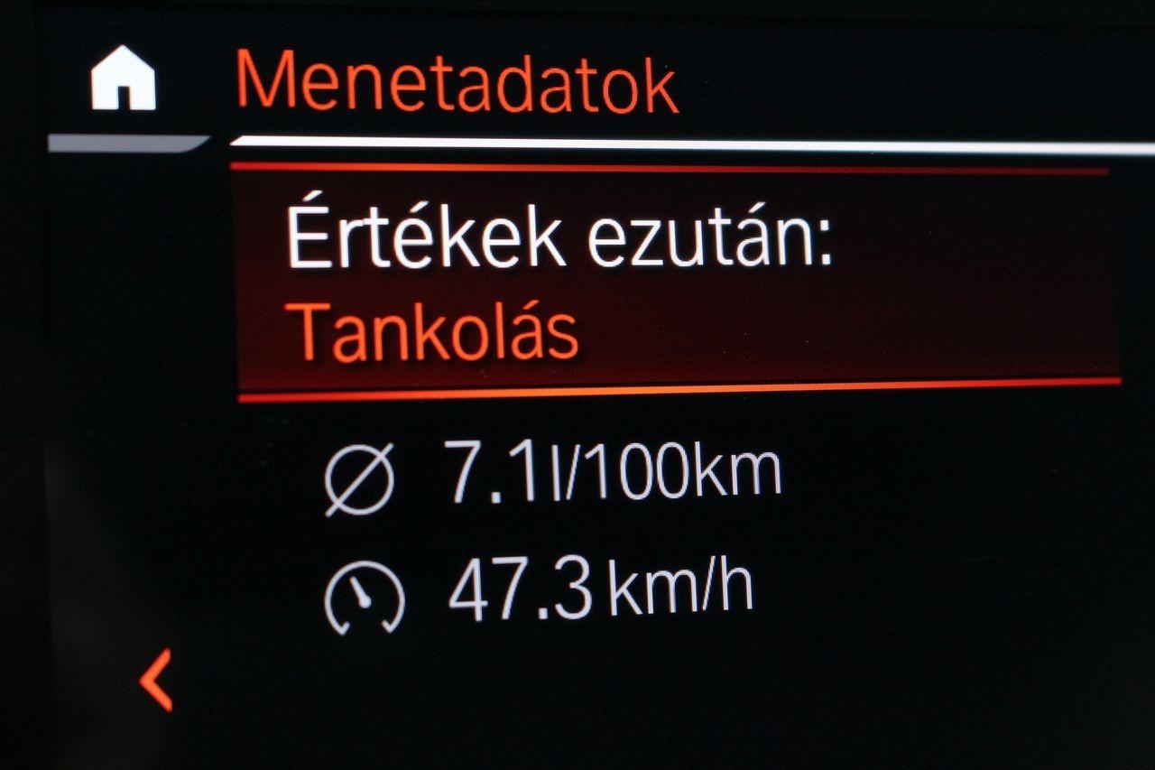 BMW 320D fogyasztás