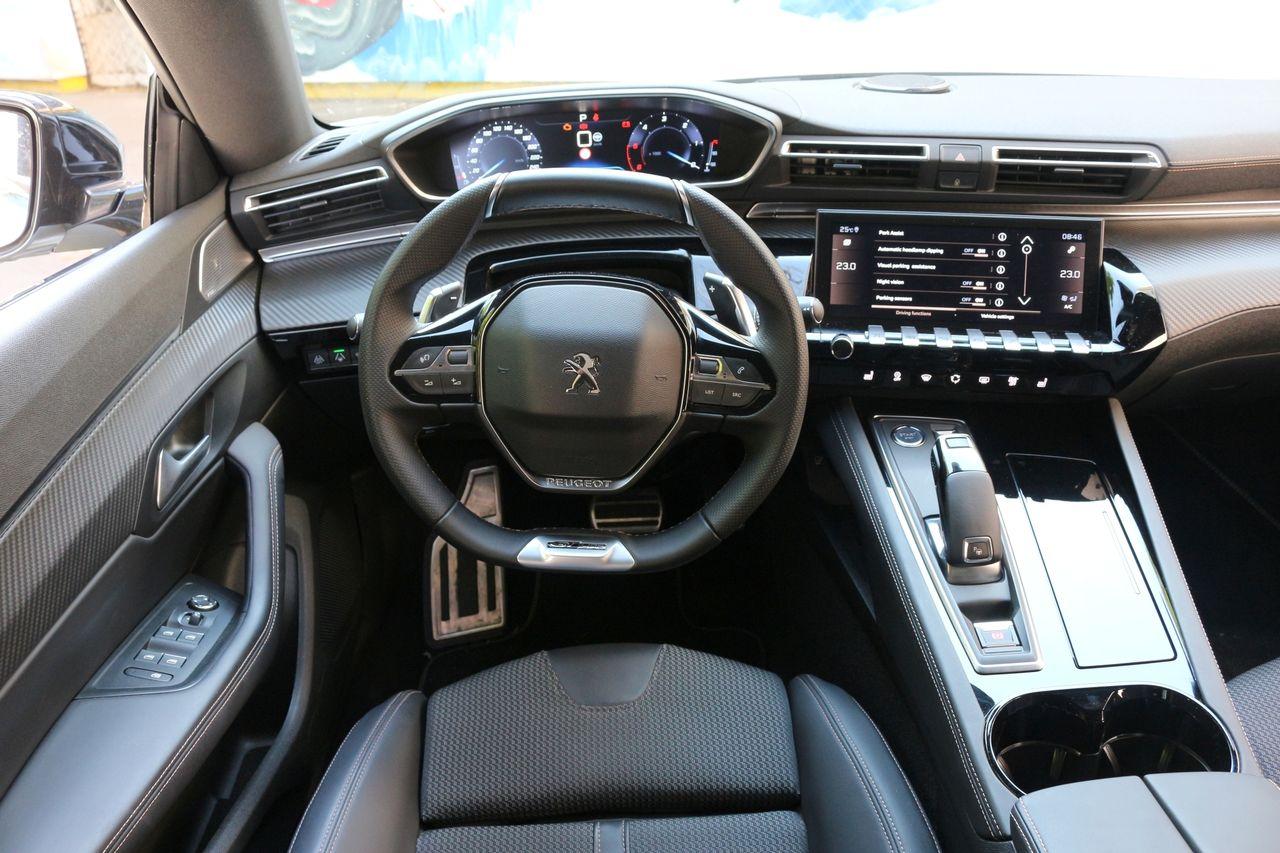 Peugeot 508 belső