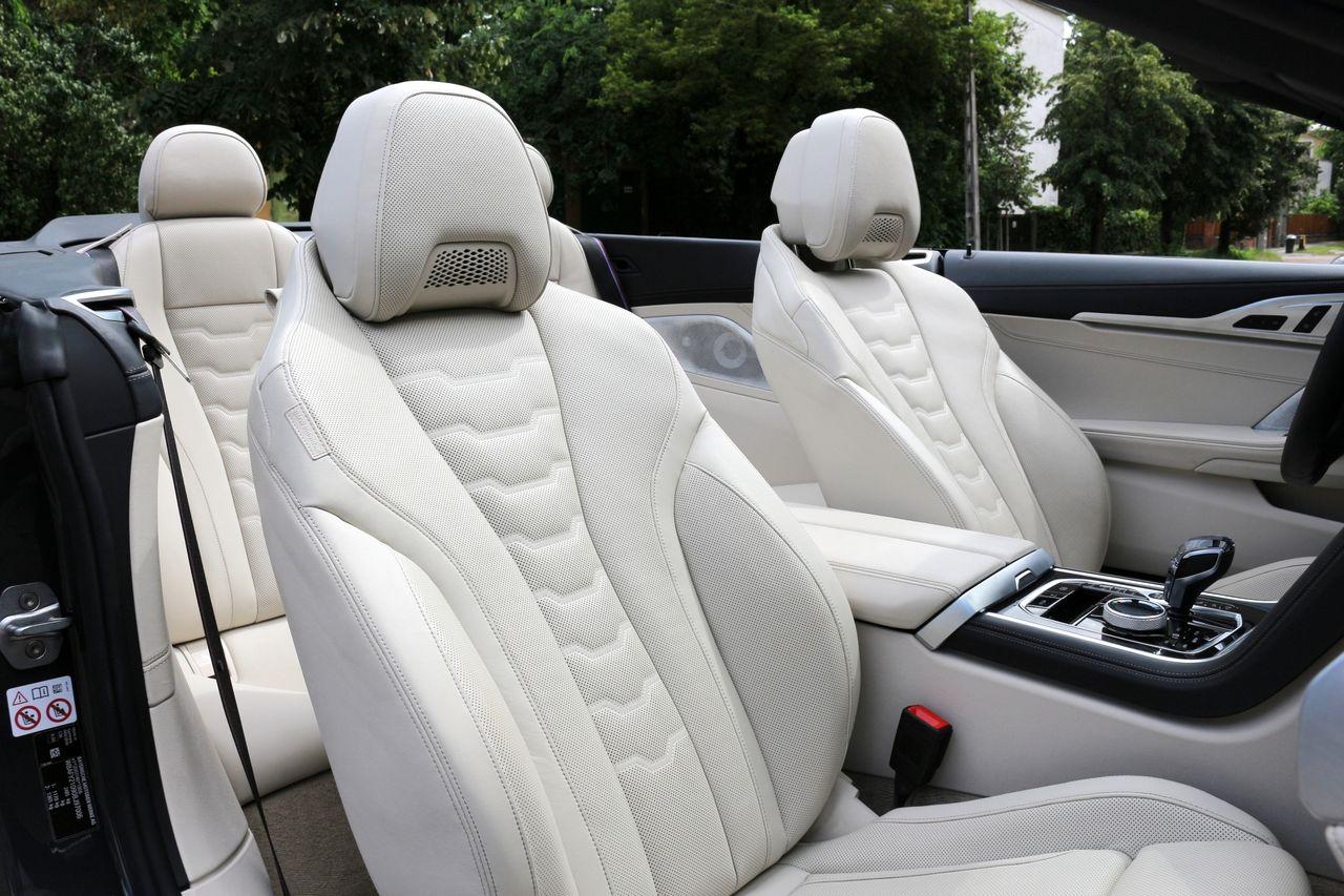 BMW 840D Cabrio belső