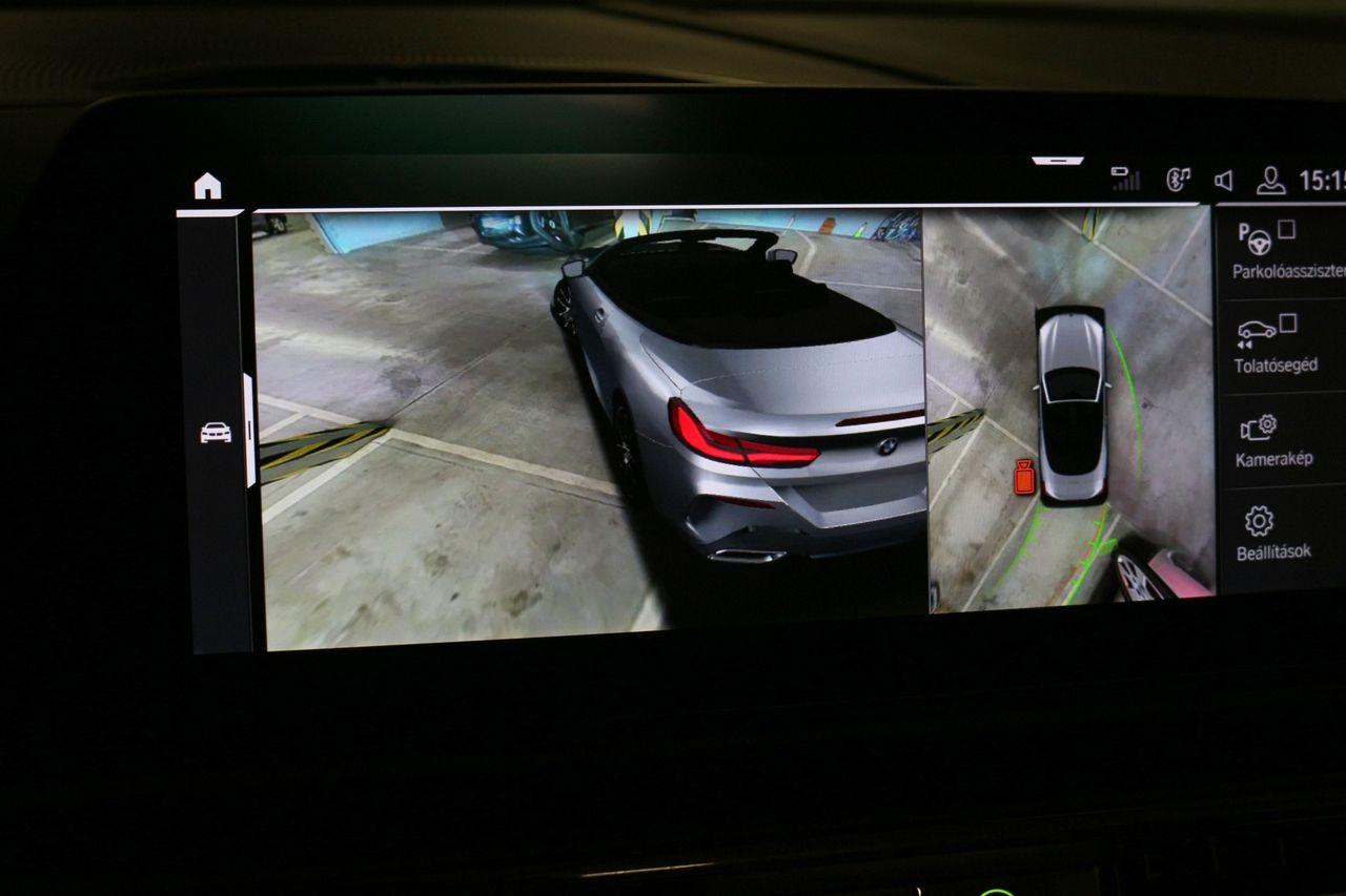 BMW 840D kamera