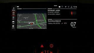 BMW 840D navigáció