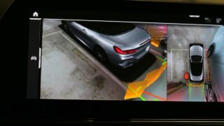 BMW 840D Cabrio kamera