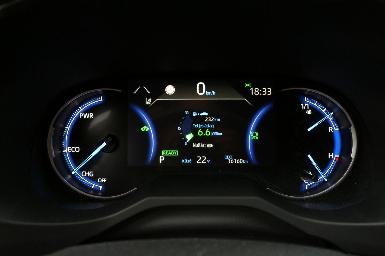 Toyota RAV4 műszerfal