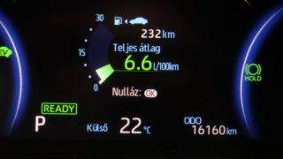 Toyota RAV4 Hybrid fogyasztás