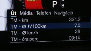 Volvo V60 belső