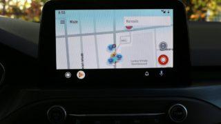 Ford Focus Kombi Active navigáció