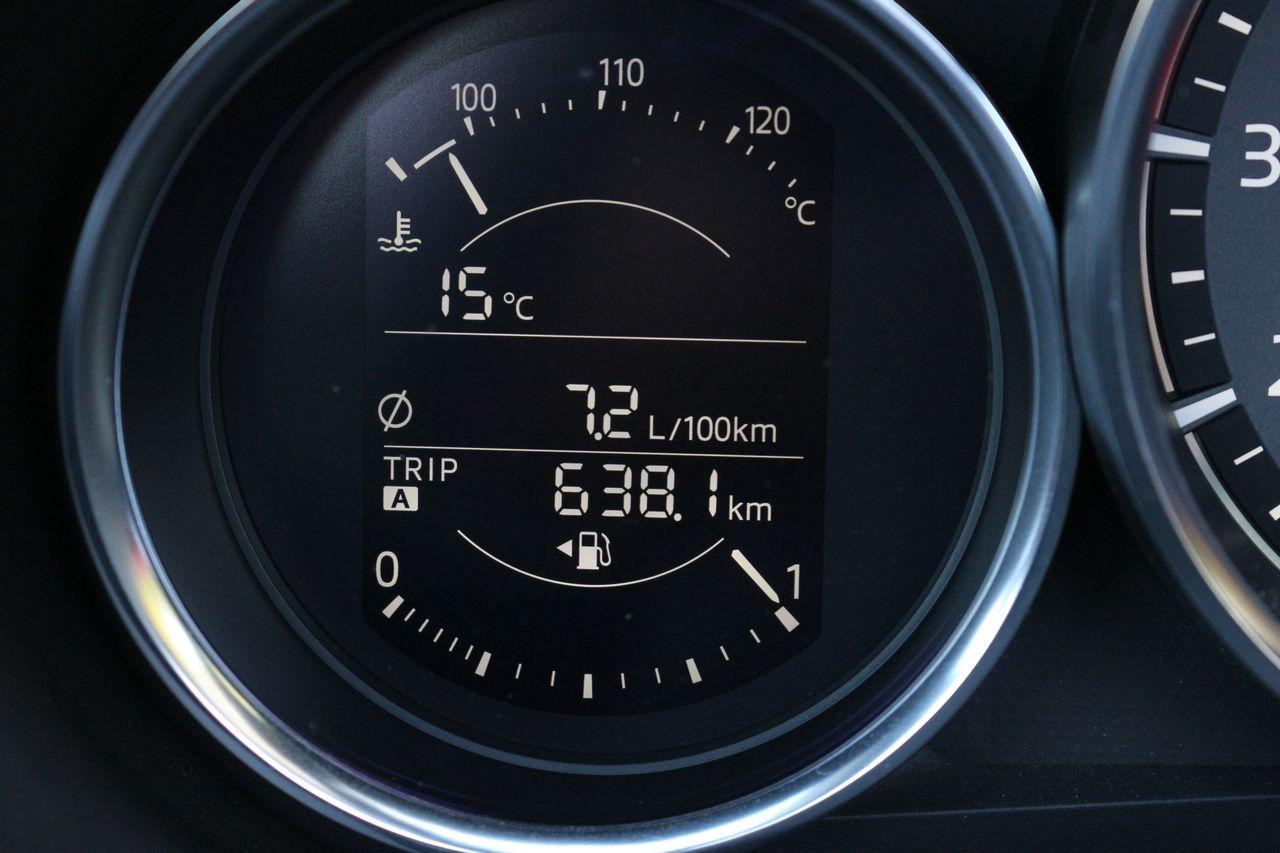 Mazda MX-5 fogyasztás