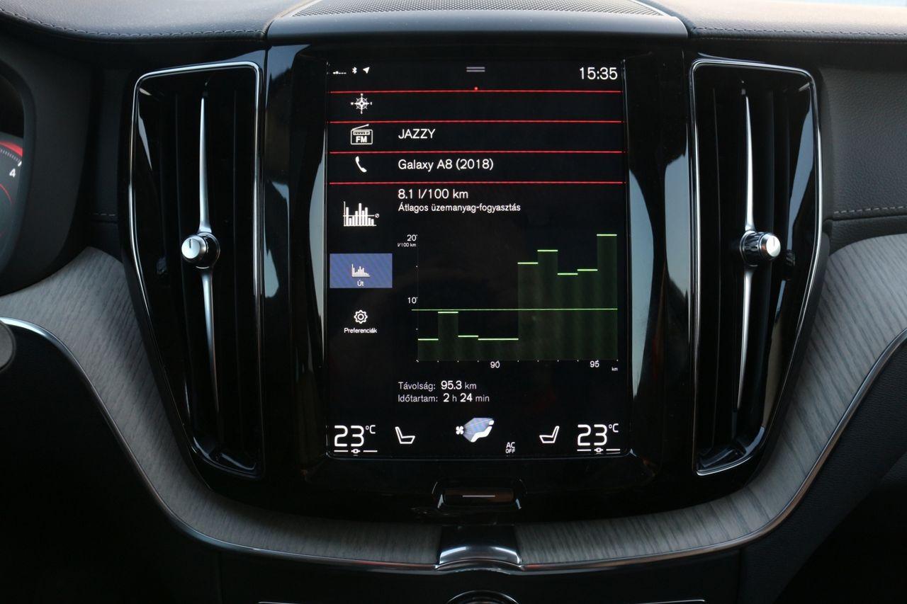 Volvo XC60 belső