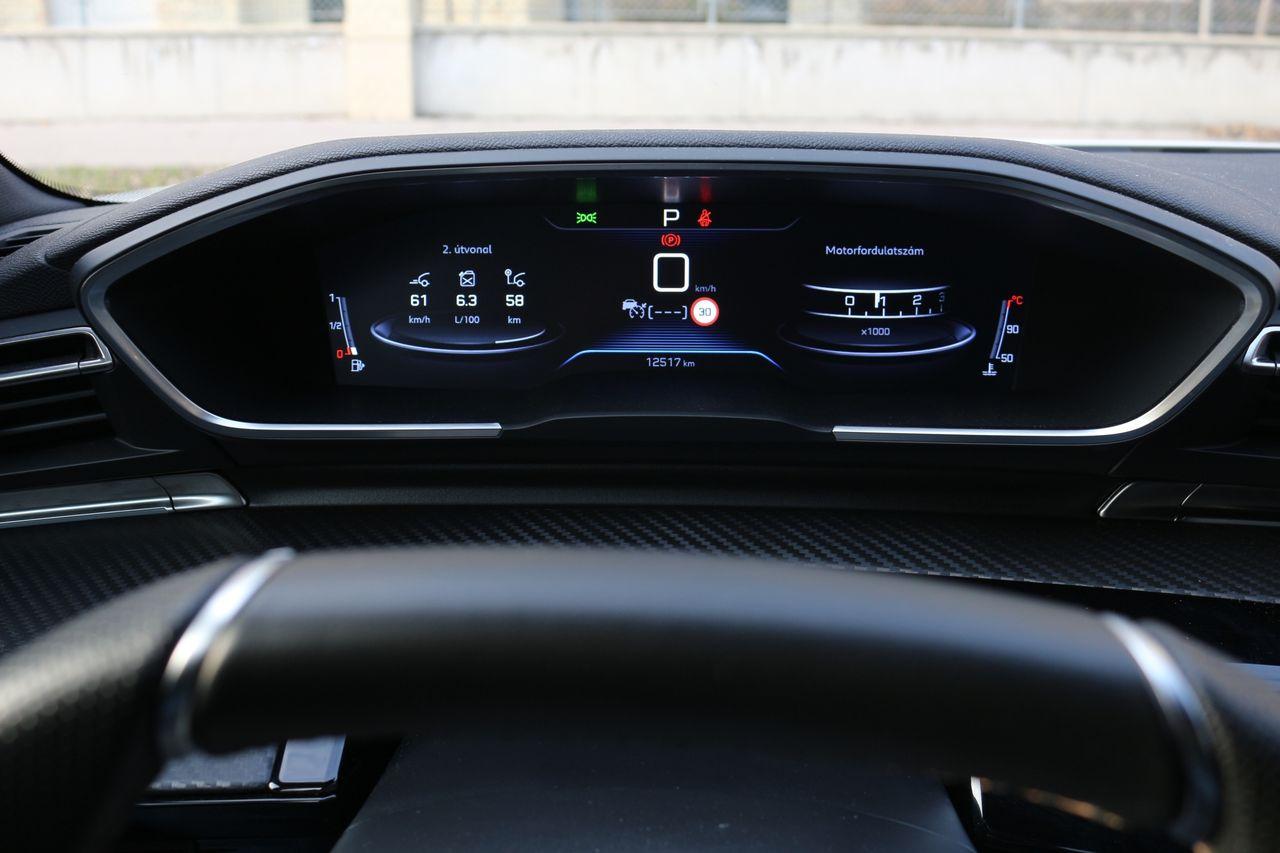 Peugeot 508 SW GT-Line műszerfal