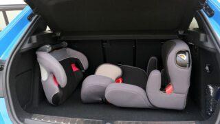 BMW 120d csomagtartó