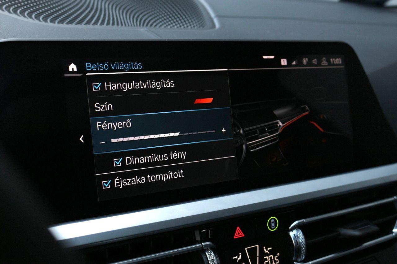 BMW 330d Touring belső