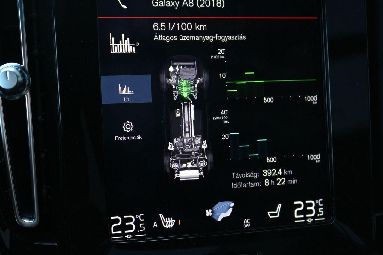 Volvo XC40 T5 fogyasztás