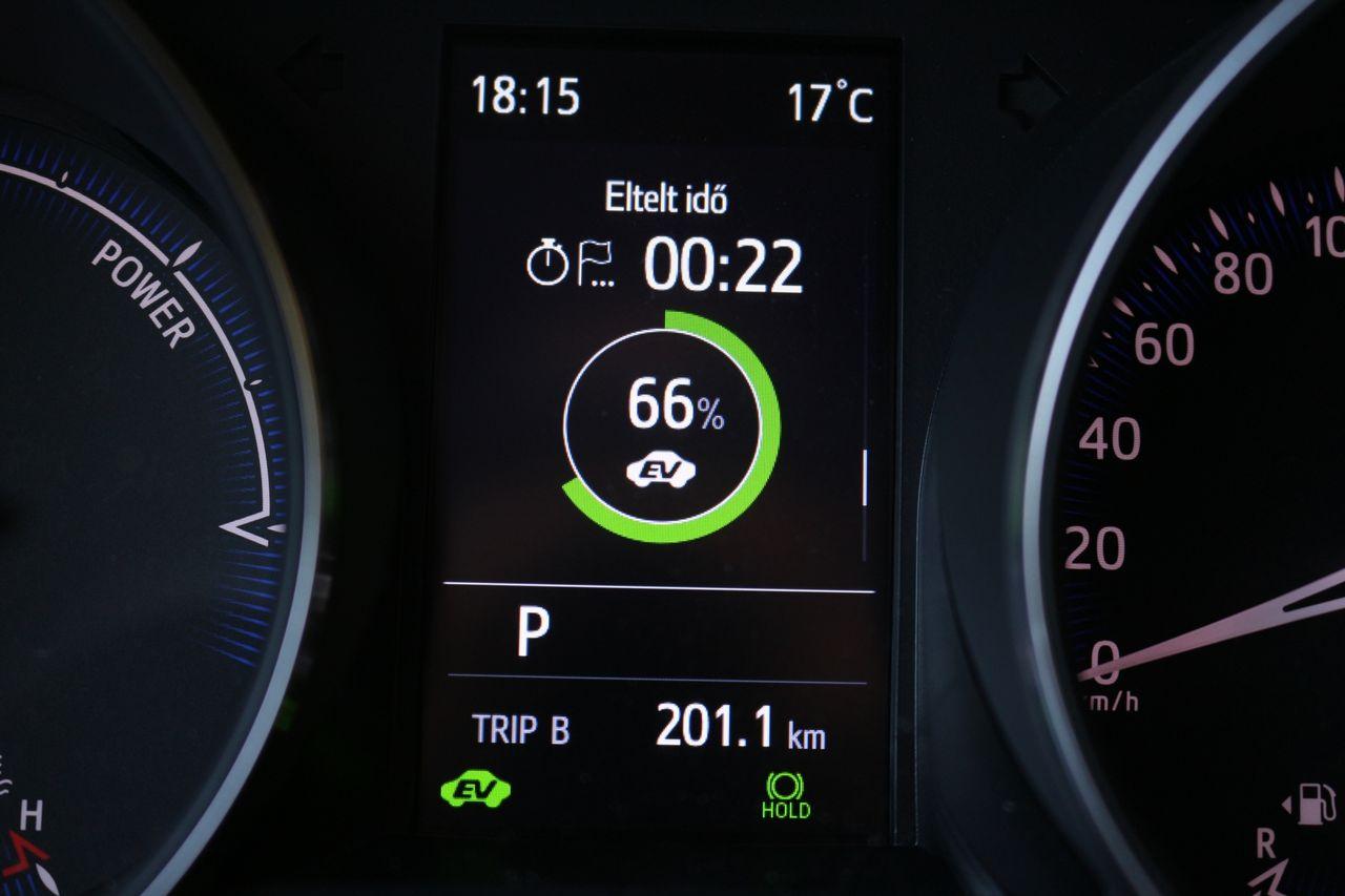 Toyota C-HR Hybrid töltés