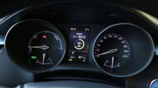 Toyota C-HR Hybrid műszerfal