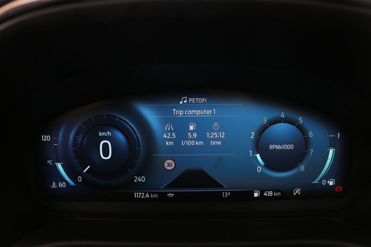 Ford Puma műszerfal