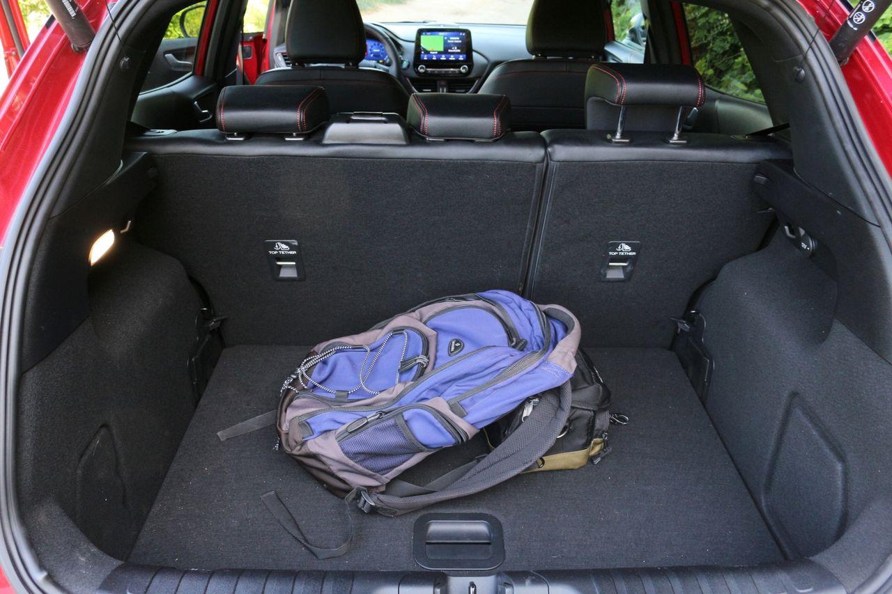 Ford Puma csomagtartó