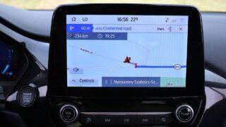 Ford Puma navigáció