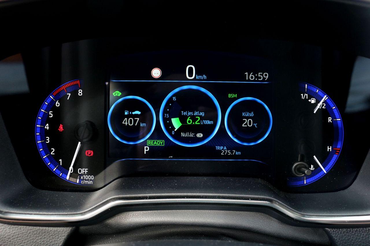 Toyota Corolla GR Sport műszerfal